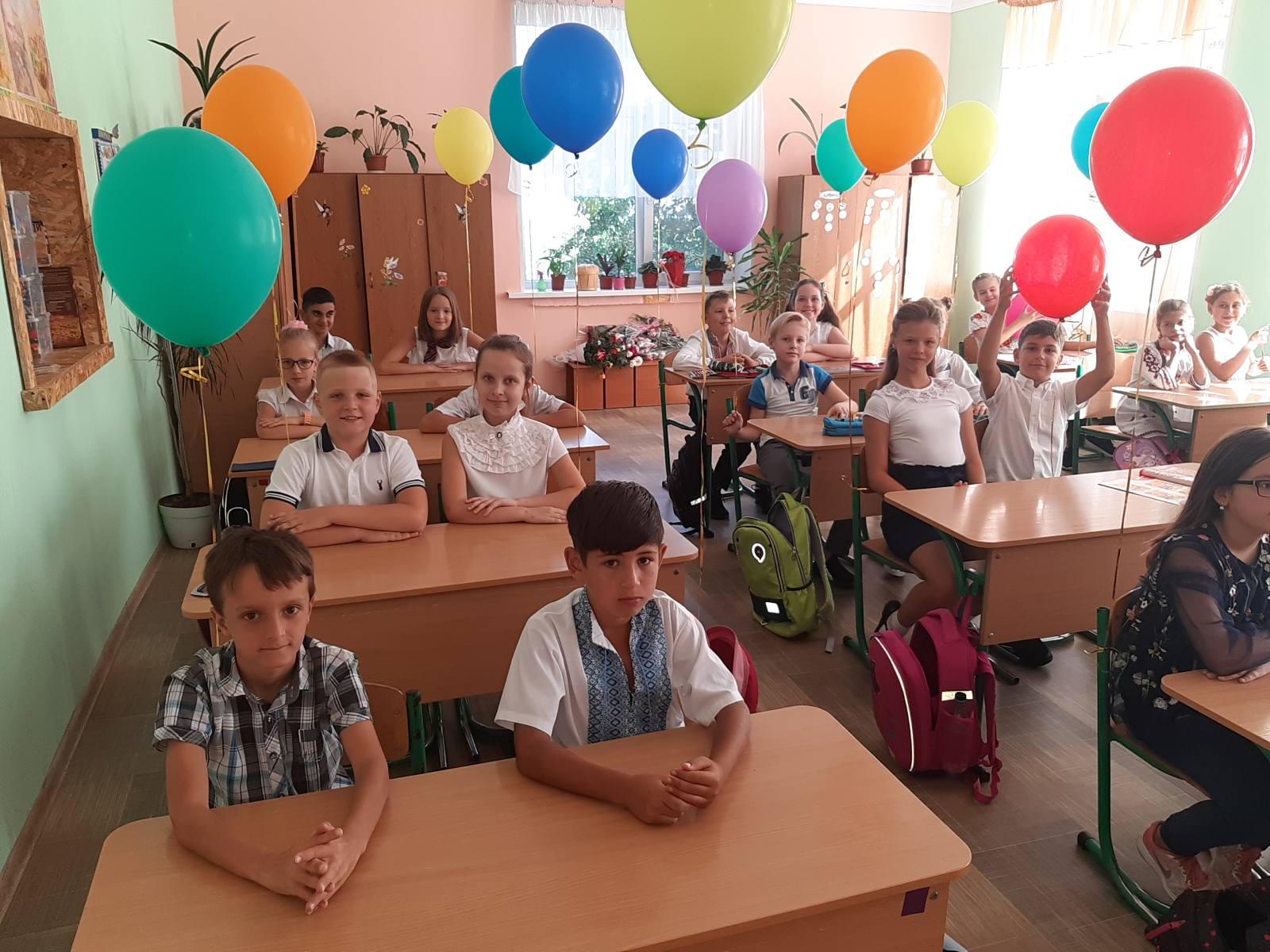 Вітаємо педагогічний та учнівський колектив